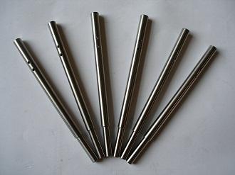 Porche titanium caliper pins
