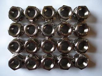 Porche titanium wheel nuts