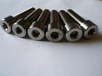 Titanium Porche M12x45 Torx 50 bolts