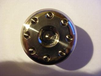 titanium race spec casing plug