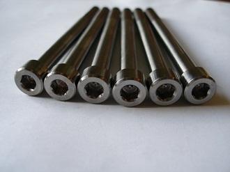 Titanium M8x95 skt cap bolts for Porche