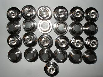 Subaru titanium magnetic sump plugs