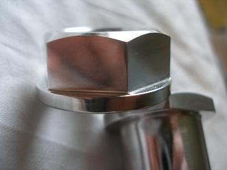 Yamaha R6 7075 alloy rear axle nut