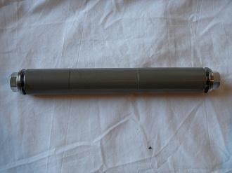 titanium and 705 alloy swinging arm pivot assembly
