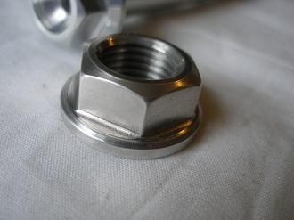 Montessa 7075 alloy swinging arm pin nut
