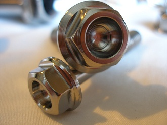 Buell titanium bolt heads