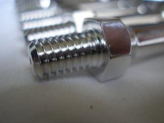 Triumph triple 7075 alloy stator tower 5/16 UNC thread