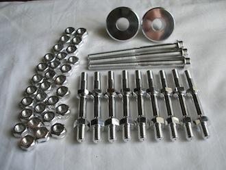 Triumph triple 7075 alloy parts