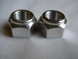 Kawasaki 7075 alloy engine mounting bolt nuts