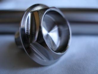Honda RC45 titanium front wheel spindle bolt