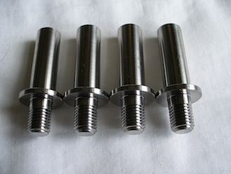 Honda titanium sprocket drive pins