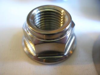 Suzuki Hyabusa titanium engine mounting bolt nut