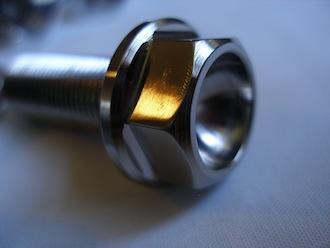 Suzuki Hyabusa titanium sidestand bolt