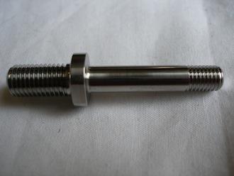 Titanium anti roll bar bolt