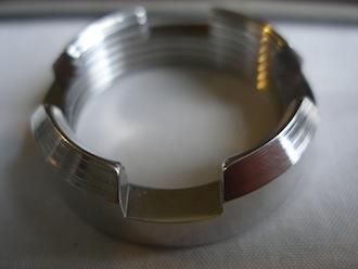 Honda Fireblade 7075 alloy swinging arm frame insert ring nut