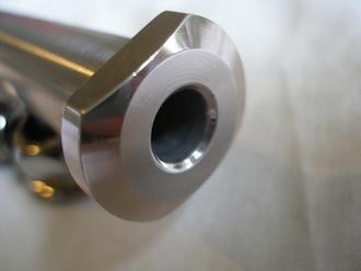 Montessa 7075 alloy rear wheel axle head