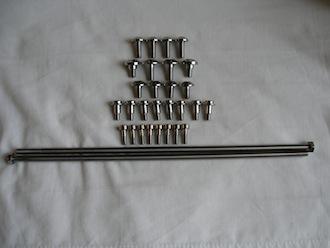 Yamaha Fazer titanium engine screws