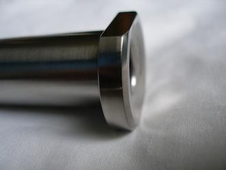Aprilia RS250 titanium rear wheel spindle head