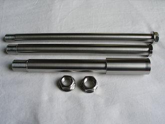 Montessa titanium axle set
