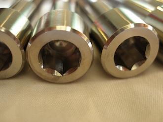 BST titanium sprocket drive pin 8mm socket cap