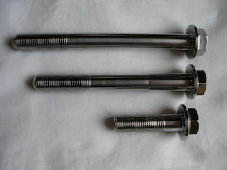 Lotus titanium bolts