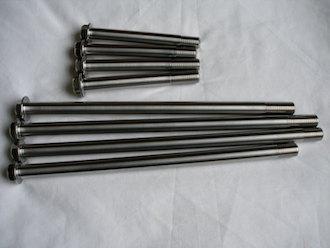 Kawasaki ZX7RR titanium engine mounting bolts
