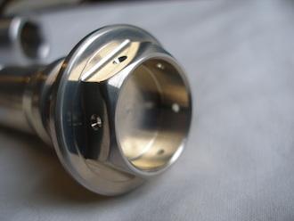 Yamaha R1 7075 alloy oil cooler bolt head