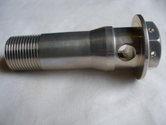 Yamaha R1 7075 alloy oil cooler bolt