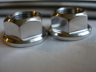 7075 alloy axle nuts