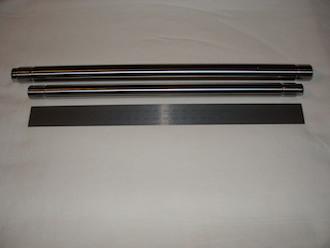 Titanium Triumph T140 spindles