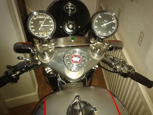 Erics BSA RGS steering damper knob