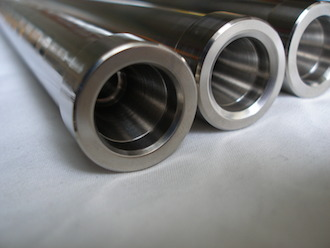 Suzuki GSXR1000 K6 titanium Gilles gp type handlebars, taper fit