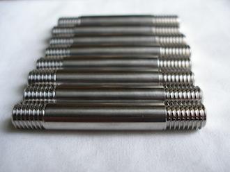 Suzuki GSXR1000 K6 titanium M8 studs