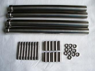 Suzuki GSXR1000 K6 titanium parts