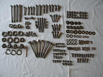 Suzuki GSXR 1000 K6 titanium parts