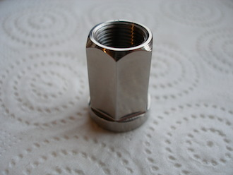 Rotax titanium clutch nut