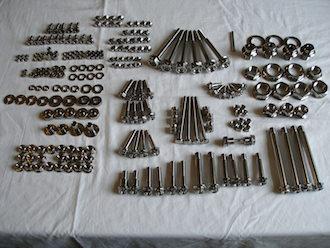 Suzuki GSXR 1000 K6 titanium fasteners