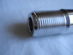 7075 alloy R1 swinging arm spindle thread
