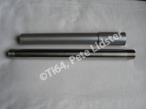 KTM RC8R 7075 alloy front and titanium rear wheel axles
