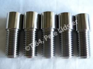 Kawasaki ZX7RR titanium sprocket drive pins