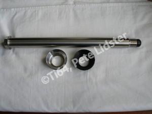 Yamaha R1 titanium QD rear wheel spindle