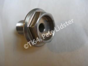 Honda SP2 7075 alloy front wheel axle bolt
