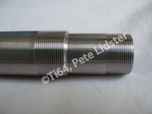 Suzuki GSXR1100 7075 alloy steering head stem threads