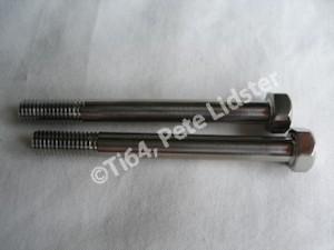 Lotus titanium M5 bolts