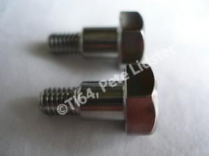 Lotus titanium M6 shouldered bolt