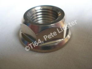 Montessa 7075 alloy swinging arm spindle nut
