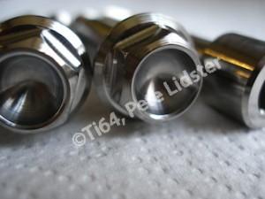 Montessa titanium suspension bolt heads