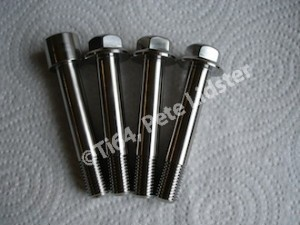 Montessa titanium suspension bolts