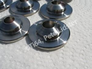 Titanium Westlake valve retainers, spring seat