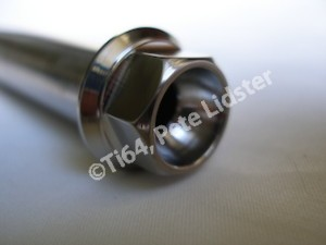Montessa titanium swinging arm axle head